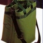 4 bottle salesman wine tote