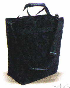 six bottle wine salesman tote