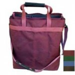 six bottle salesman wine tote
