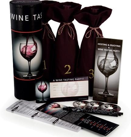 3 bottle blind wine tasting kit
