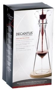 decantus aerator stand wood base