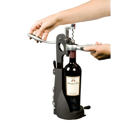 grandstand uncorking machine