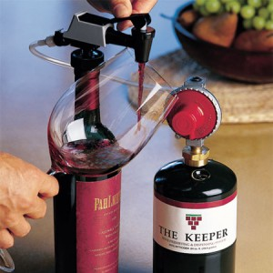 winekeeper keeper gas dispensing system stopper-faucet