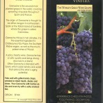 wine grapes reference cards