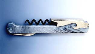 capitano corkscrew grey marble