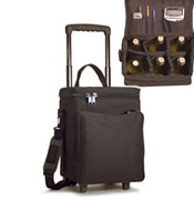 wine-on-wheels wine carriers tote