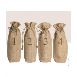4 Bottle Blind Wine Tasting Sacks